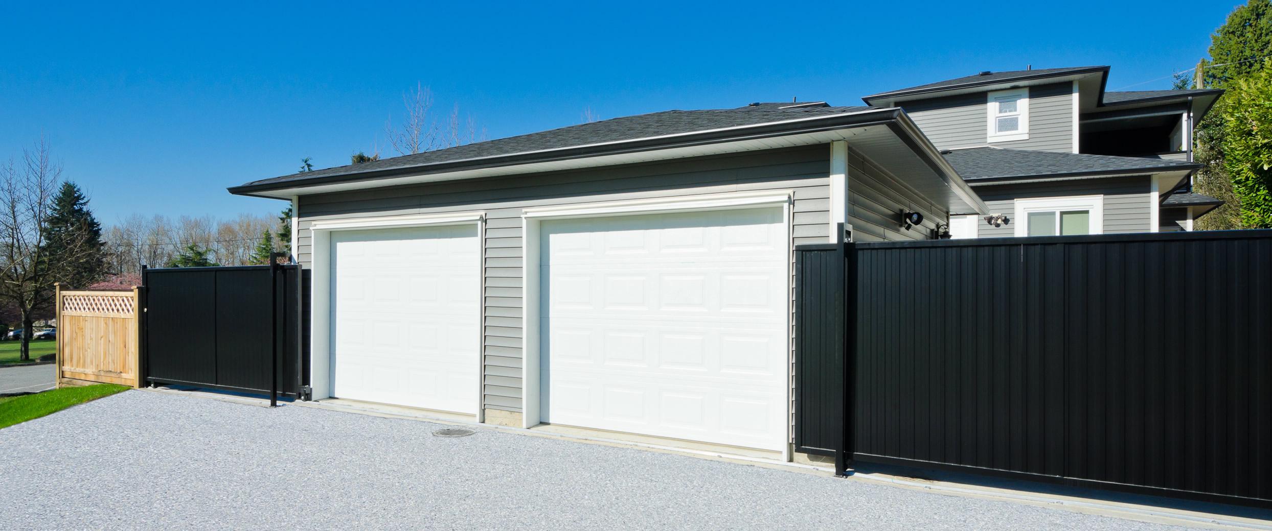 portas de garagem